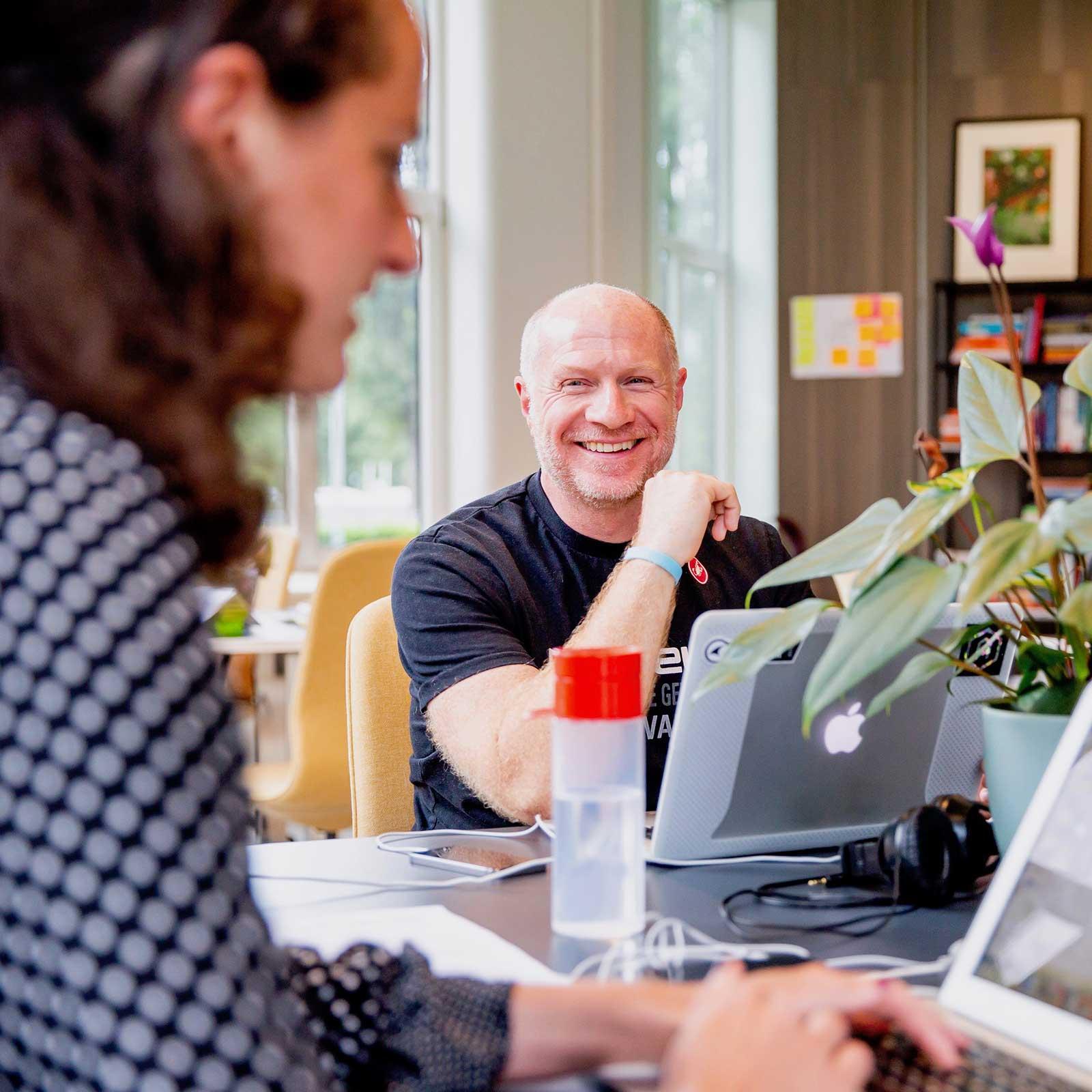 Members of impact scale-ups meet in Amsterdam