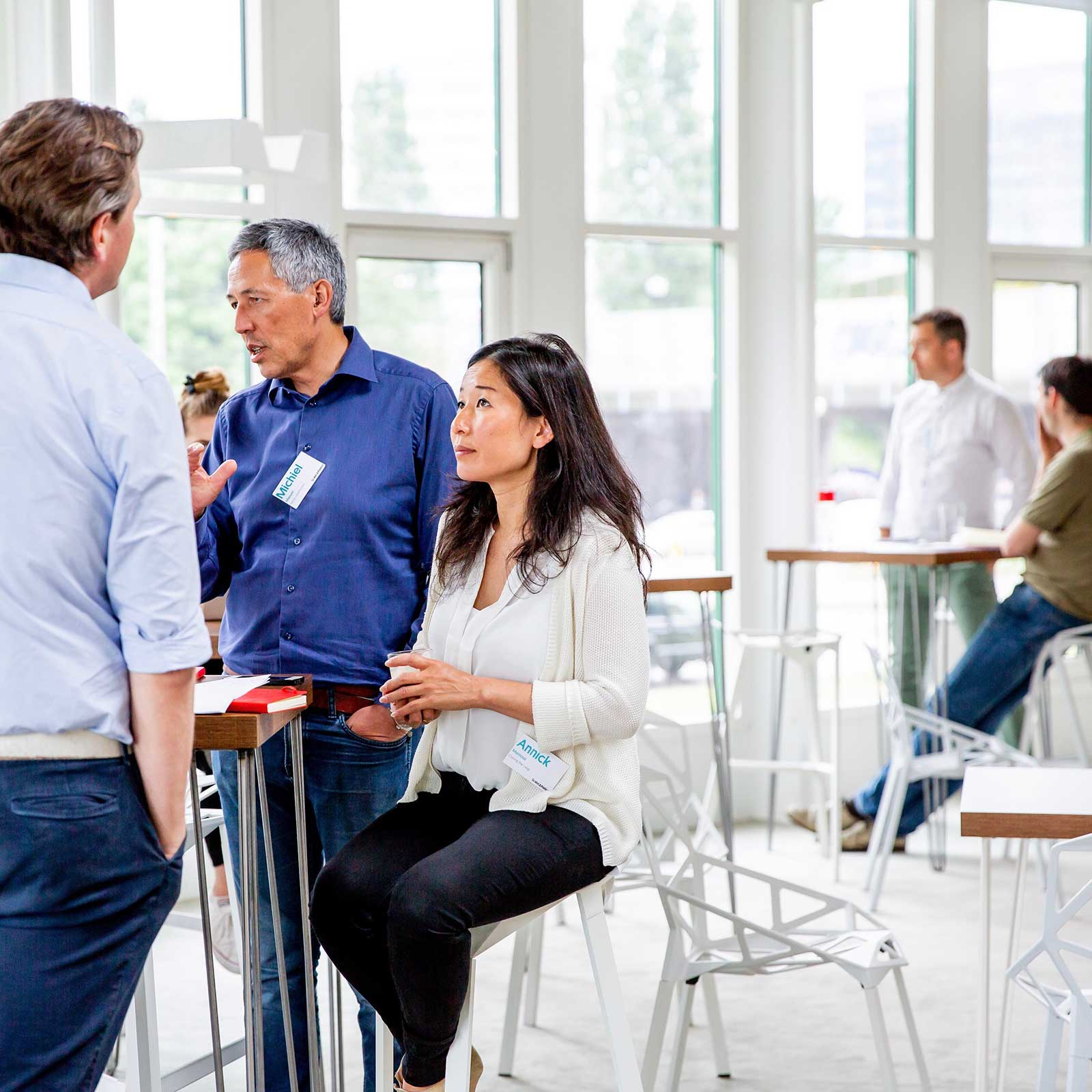 Scaleup founders meet in Amsterdam
