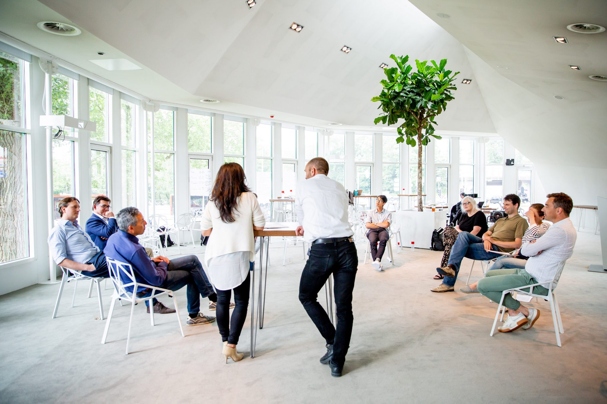 Startup founders meet in Amsterdam