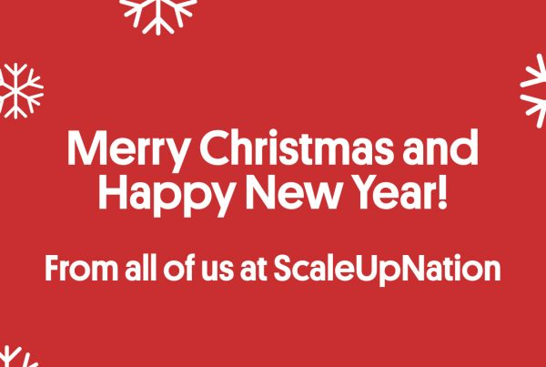 merry christmas and happy new year from everyone at scaleupnation