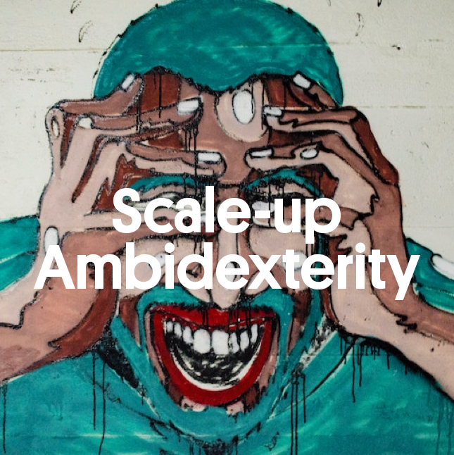 ScaleUp Ambidexterity