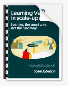 Learning Velocity in scale-ups - ScaleUpNation