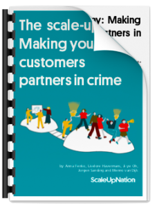 The scale-up way: Making your customers partners in crime