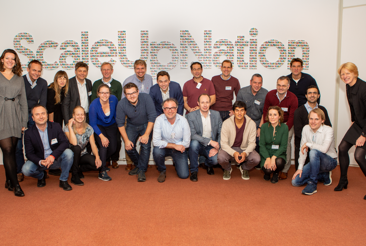 ScaleUpFood Class 1 - Food&Agri scale-ups leaders gather in Amsterdam