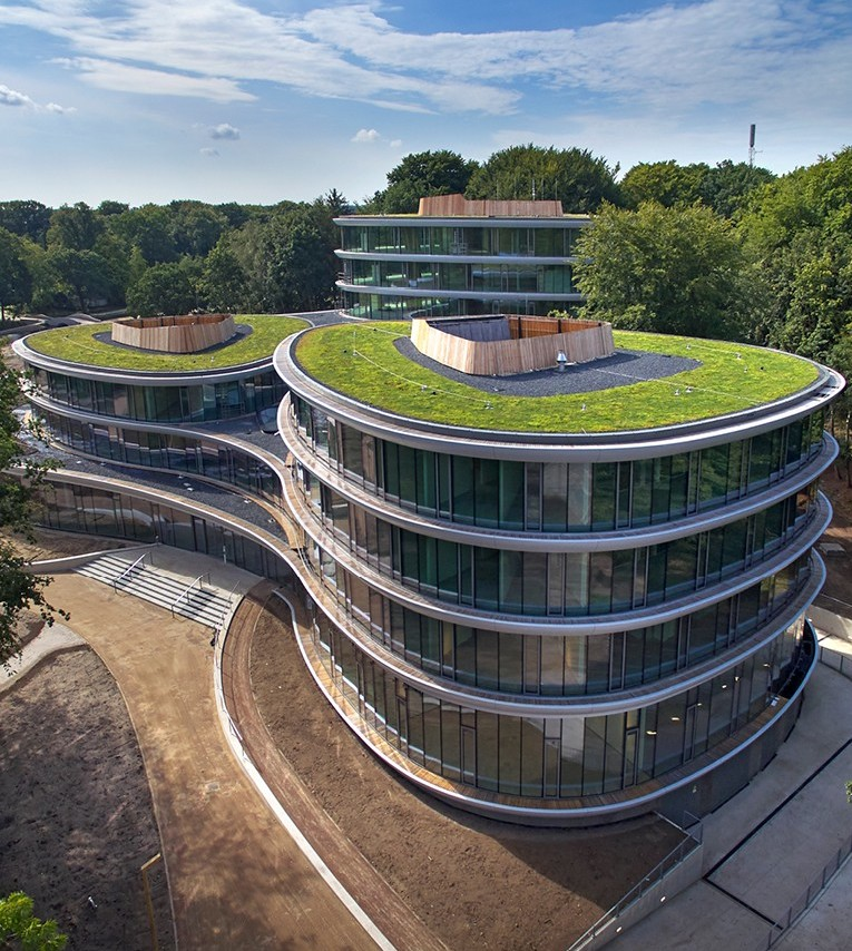 The Triodos headquarters building is a landmark in circular construction