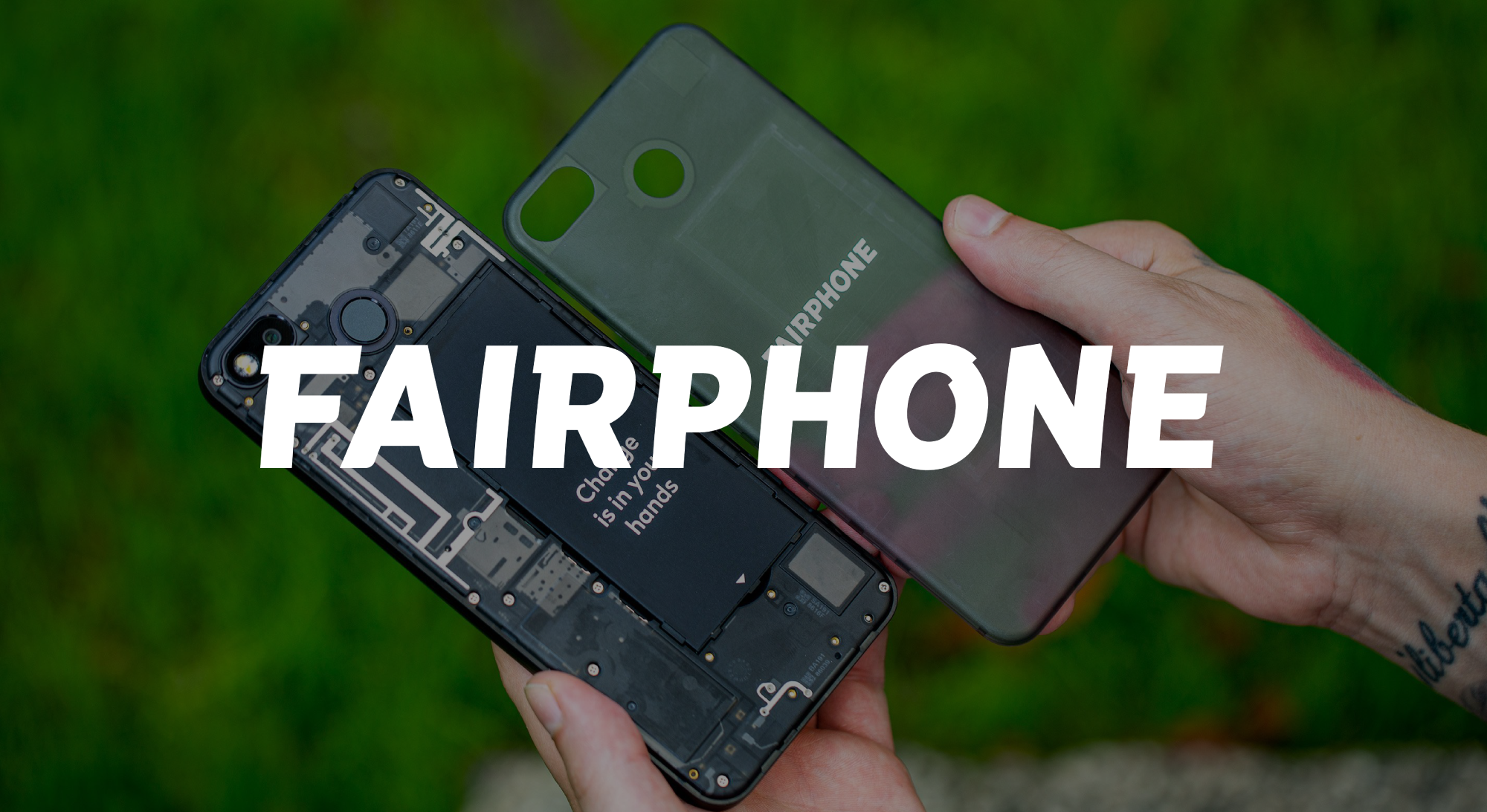 Fairphone is one of the 125+ impact scale-ups have completed our programs