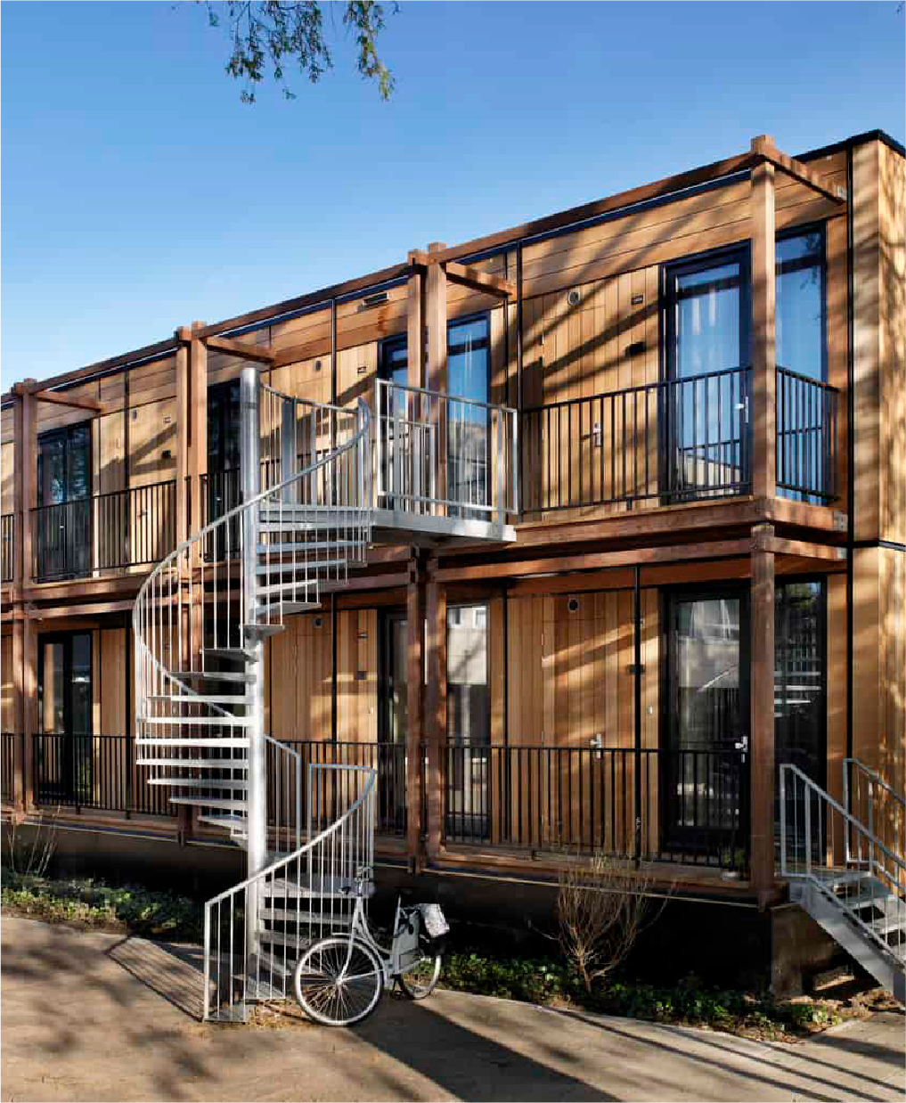 Finch Buildings develop modular timber buildings which are leaders in the circular construction sector
