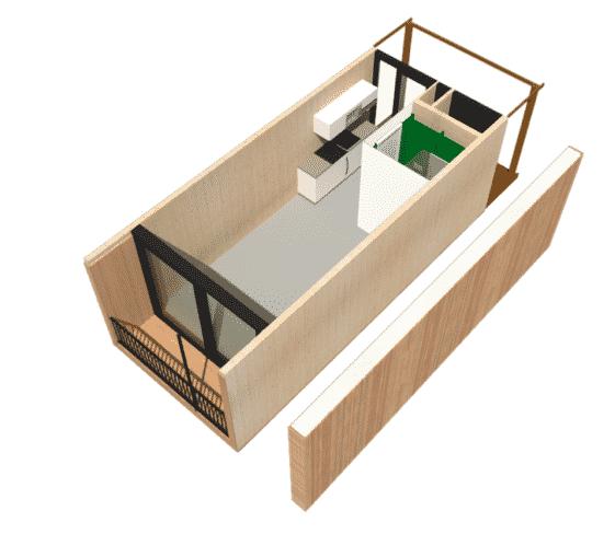 sustainable housing model