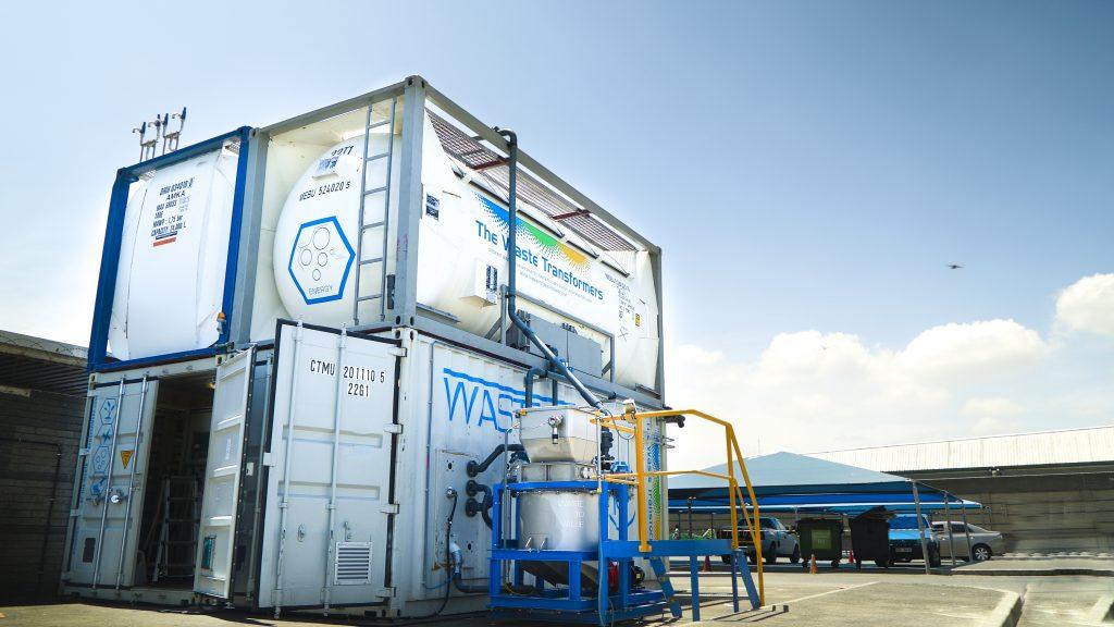 the waste transformers hub