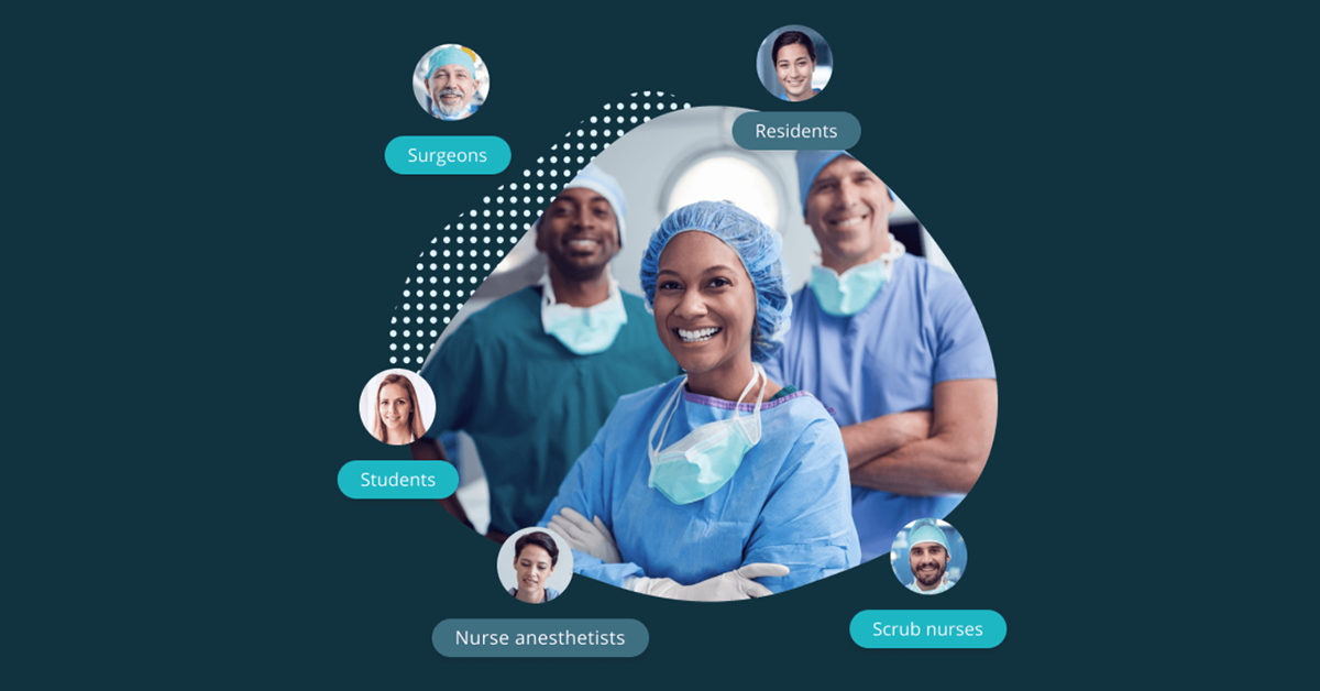 Incision educational service for surgeons