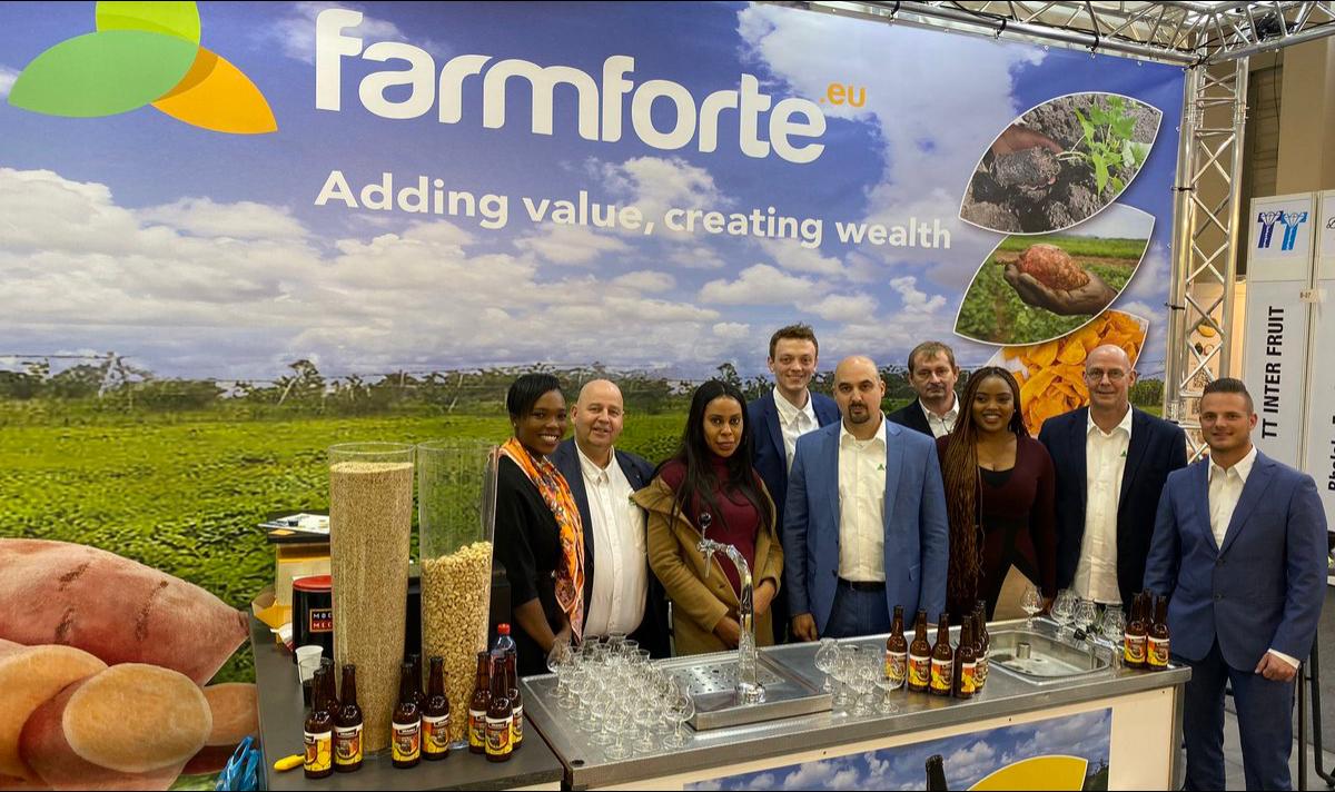 The Farmforte team at Fruit Logistica 2020, in Berlin